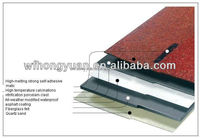 High Quality Asphalt Roof Shingle /Self Adhesive Roof Tile with ISO Certificate/ 20 Years Experience Manufacturer