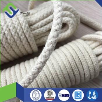 e0a3e35ad491e Corda trançada do algodão de 5mm usada para sacos   vestuário   matéria  têxtil home
