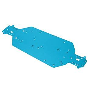 GoolRC 04001(6061) Aluminum Alloy Upgrade Parts Aluminum Alloy Chassis for 1/10 HSP 94107 Off Road Buggy 94111 Off Road Monster 94123 Drift Car, Model: , Toys & Play