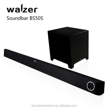 Wireless Tv Soundbar With 8 Inch Subwoofer And Bt Connectivity