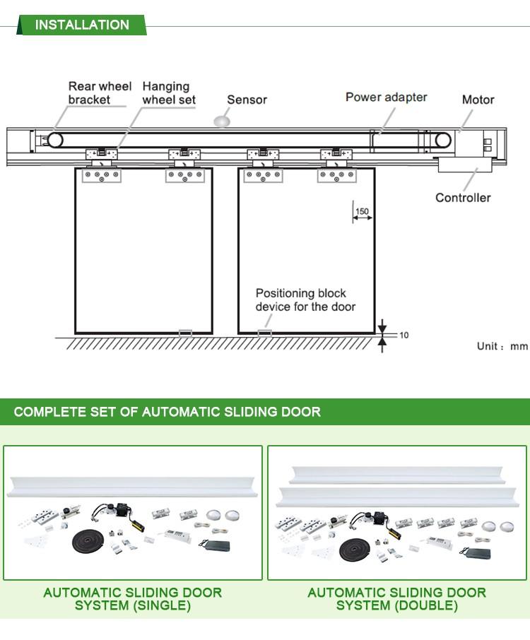 Dc24v Automatic Sliding Door Controller Sliding Glass