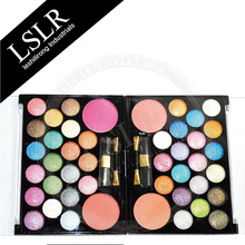 44 Pearl Eyeshadow & Blush Colors Makeup Kit Palette Big Eye Shadow Kit