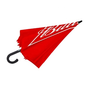 Customised Logo White Red Black Pink Yellow Bright Colored Citizen Audi Toyota Avon Golf Advertising Umbrella