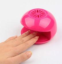 2014 New Portable Mini Finger Nail Tip Polish Dryer Manicure Durable Nail Dryers Nail Tools