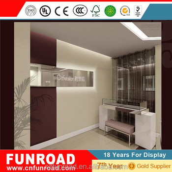 European Style Jewellery Showroom Interior Ceiling Designs