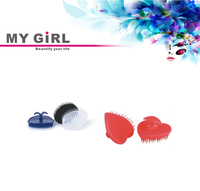 MY GIRL Popular PP Material Long Life Use easy cleaning massage hair tangle brush Customized hair washing brush