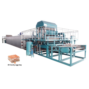 paper egg tray making machine pulp egg carton moulding machine