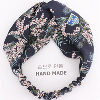 Fashion New Arrived Women Hair Accessories Flower Headband With Knot Elastic Hair Hairband Headband Hairstyles