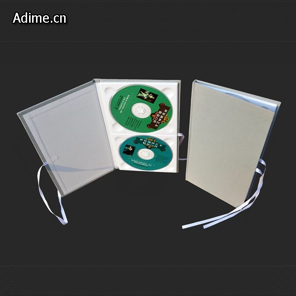 14mm zwart wit dubbele plastic ps cd dvd case