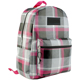 Top Quality Brand School Bag Fashionable Urban Plaid Checkered Backpack