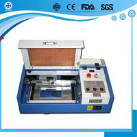 Distributor wanted Mini portable mini 4040 3040 3020 50w 40w 220v 110v ring laser engraving machine With CE Approved