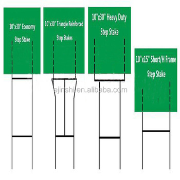 Coroplast Sign Holder Stakes - Buy Garden Stake Signs,Garden Wire ...