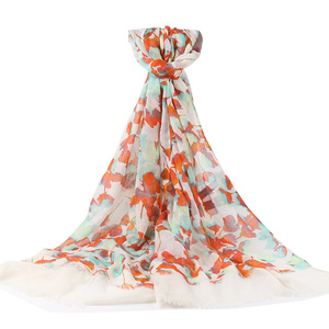 Polyester and cotton vietnam shawl women's scarf
