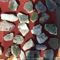 Wholesale Price of Natural rock green fluorite crystal quartz rough stone pieces raw crystal for gift