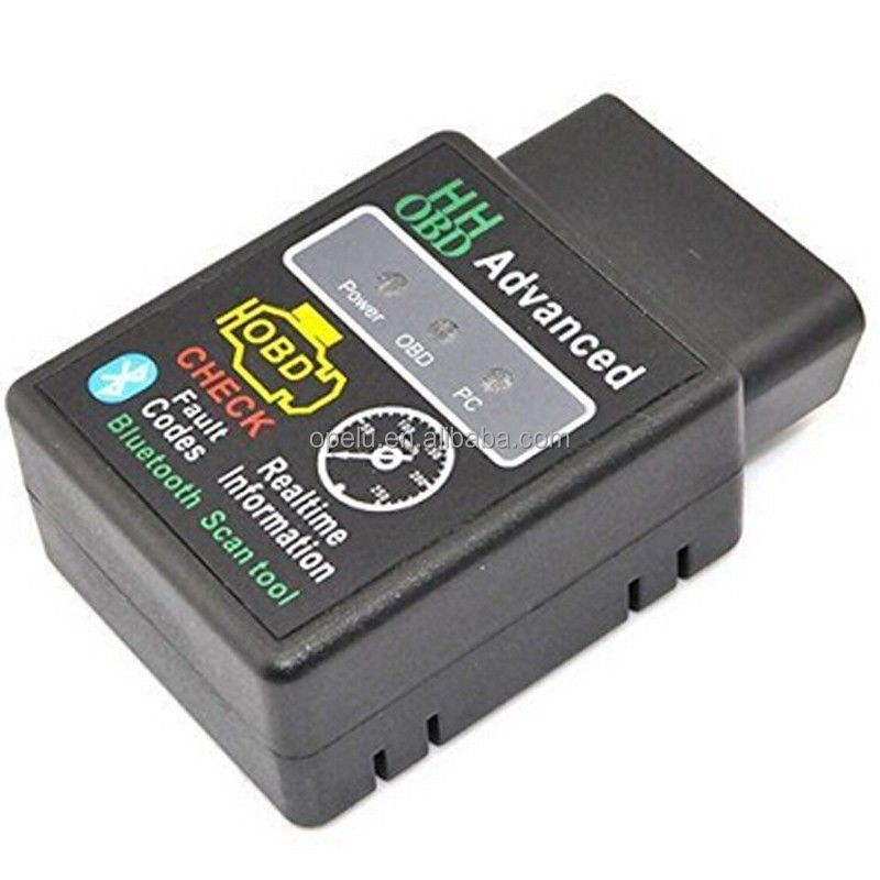 Super HH OBD Mini ELM327 Bluetooth ELM 327 V2.1 OBD2 Usato Auto Diagnostica Scanner