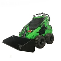 323 Small Mini Skid Steer Loader like avant bulldozer toro dingo kanga