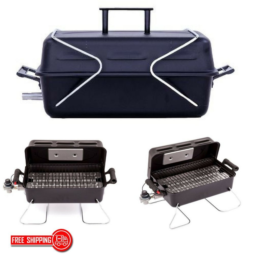 07cf399b4c9432 Get Quotations · Travelers Grill, Gas Grill For Camping Or Picnic With  Folding Legs For Easy Portability,