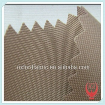 Pu Coated Polyester Oxford Fabric Waterproof Roofing