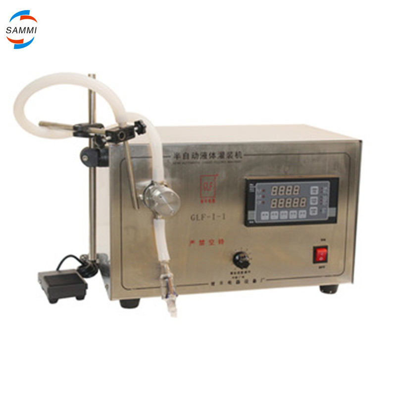 Custom normal latest magnetic pump liquid filling machine