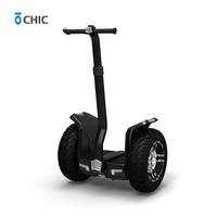 CHIC smart hoverboard fashion police two big wheel powerful self balance electric scooter