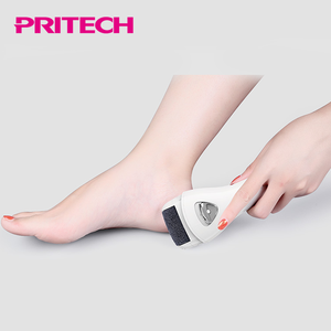 PRITECH LED Light Peel Off Dead Skin Foot File Callus Remover With 3 Rollers