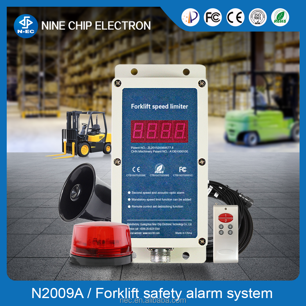 OEM and ODM Forklift speed limiter with wireless sensor