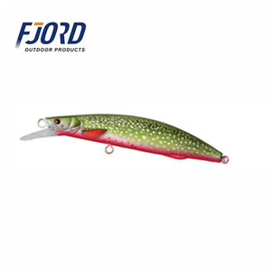 FJORD New design sea fishing artificial live bait pattern 130mm 32g topwater floating minnow hard bod yplastic fishing lures