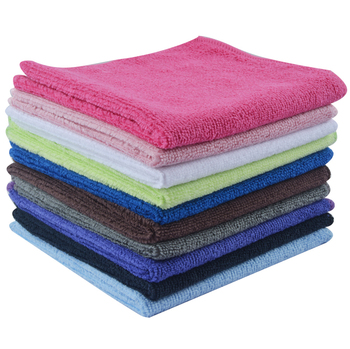 Reusable Antibacterial Microfiber Kitchen Towel Dish Cleaning Cloth