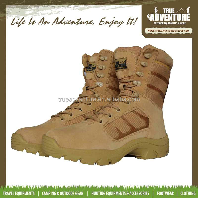 trendy military camel tactical outdoor adventure hunting fashing hiking shoes
