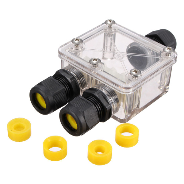 Get Quotations · Waterproof Junction Box Outdoor Electrical Power Connector Enclosure Cable wire Connector Case Cover box Protector IP68  sc 1 st  Alibaba : coax cable junction box - Aboutintivar.Com