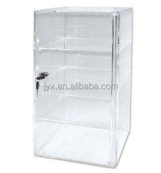Acrylic Countertop Display Case Tower 4