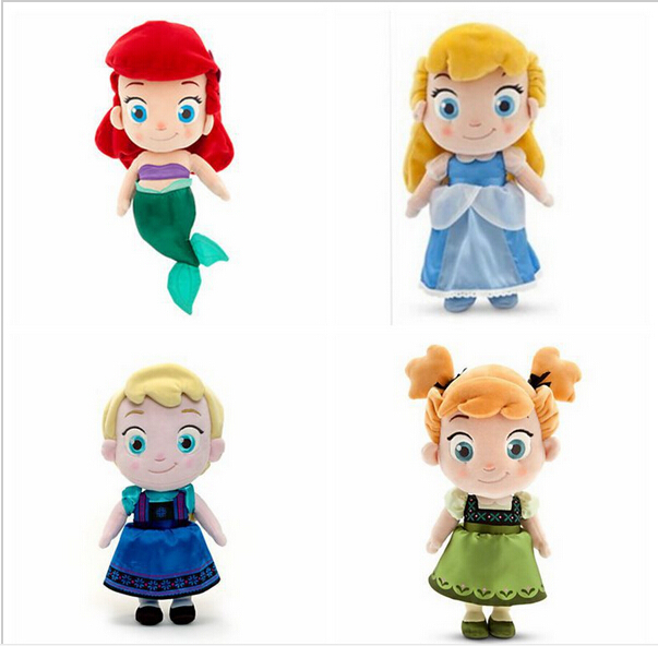 Cinderella Baby Doll Dress On Storenvy: 2015 NEW Plush Cinderella Mermail Snow Baby Elsa Baby Anna