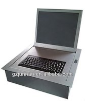 touch screen flip up lcd monitor lift for office supply
