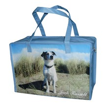 High quality dog recycled pp woven bag for shopping