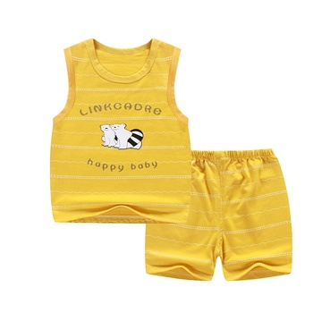 Hot sale good quality 2 pieces wholesale baby clothes