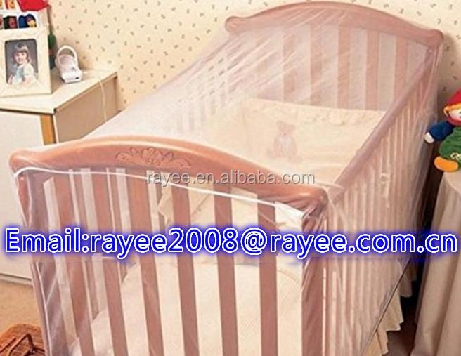 Bebé mosquitera mosquitero para cuna Canopy cama Niño con goma y ...