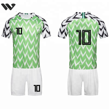 New Design Popular 2018 Nigeria National Team Sublimation Soccer Jersey  Uniform 4756e28a6