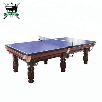 Modern Cheap China Wholesale 7ft 8ft 9ft Billiard Tennis Table Snooker Pool  Ping Pong Table
