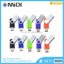 USB 2.0 Flash Drive Metal Swivel High Speed Memory Stick Thumb Pen Gifts