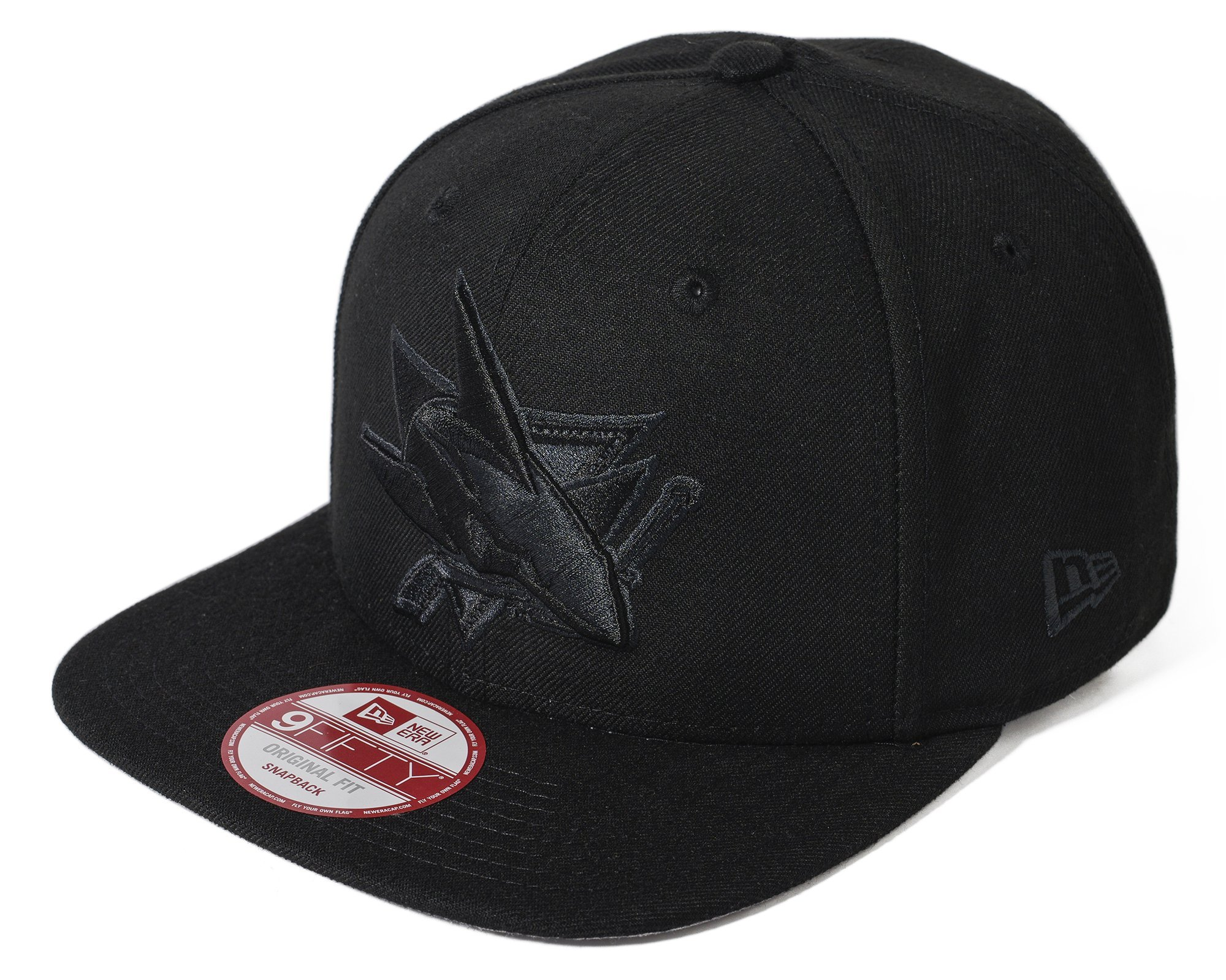 half off 2c2ee c88d6 100% Authentic NWT NHL San Jose Sharks New Era Black Snap Back 9Fifty  Original Fit