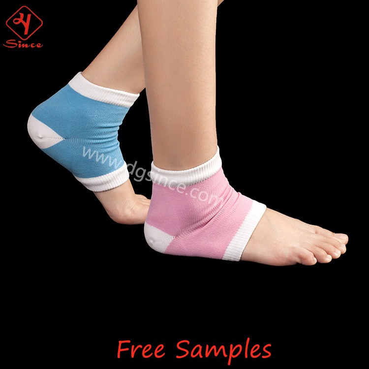 Silicone Humidité Hydratant Pied Spa Gel Chaussettes