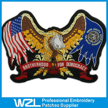 Custom Embroidery Patches No Minimum in Low Price High Quality