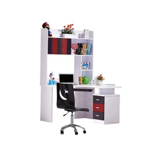 Corner round children study table wholesale 8350-1