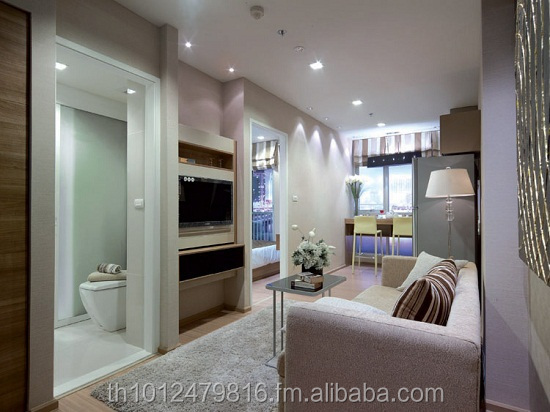 Condo 45 sqm fully furnished in bkk