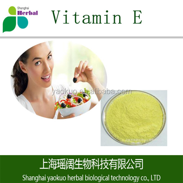 Factory supply pure natural 100% Vitamin E extract herb