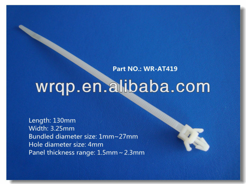 UL,Hohs certificative cable tie
