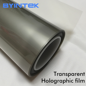 Advertising Holographic Rear Adhesive Projection Film 3D Projector Screen for Shop Window