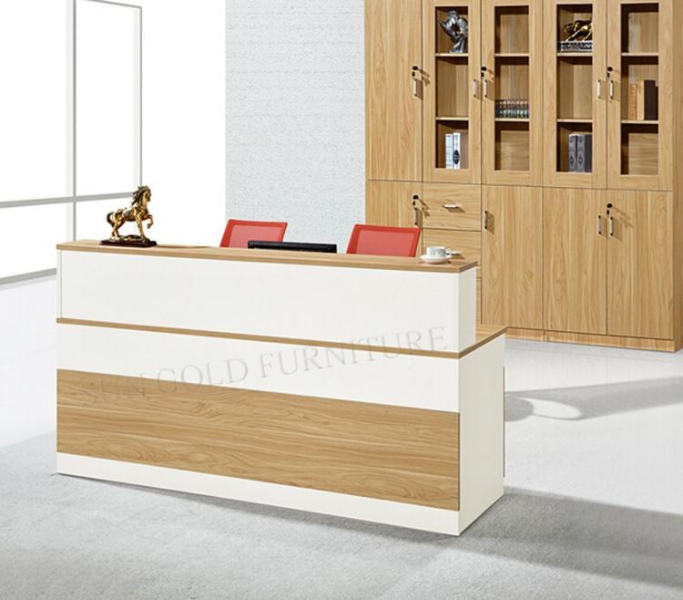 Foshan furniture school reception desk, front desk counter design  (SZ-RTB042)