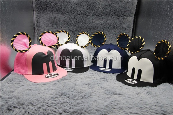 wholesale 2015 cat ear fashionable baseball cap hip-hop cap