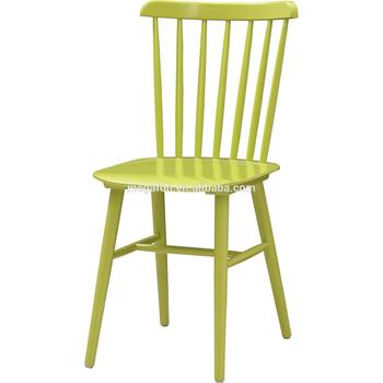 Durable Pintura Color Verde Silla De Madera Para Cocina Comedor Foh ...